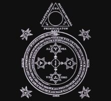 Magical Circle of King Solomon INVERTED T-Shirt