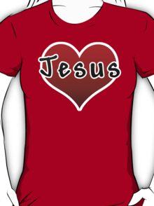 Love Jesus Christ Son of God Lord T-Shirt