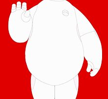 Baymax Waving by Ztw1217