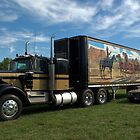 "1974 Kenworth W900A ""Smokey and the Bandit"" Semi Truck Replica by TeeMack"