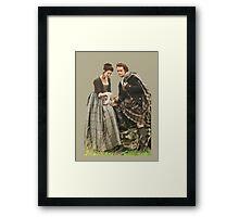 Outlander - Jamie x Claire Framed Print