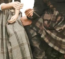 Outlander - Jamie x Claire Sticker