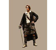 Outlander - Jamie Fraser Photographic Print