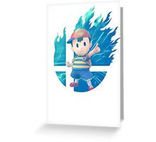 Smash Ness Greeting Card