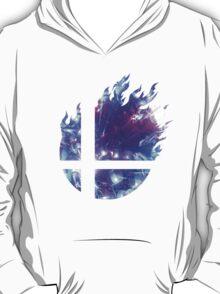 Super Smash Bros. Logo - Blue T-Shirt