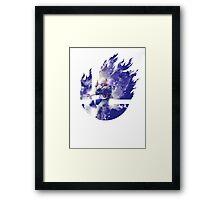 Smash Sheik Framed Print