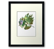 Smash Link Framed Print