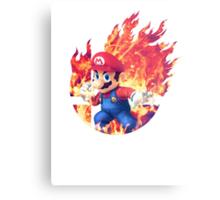Smash Mario Metal Print