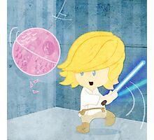 Star Wars babies - inspired by Luke Skywalker Photographic Print