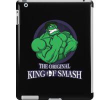 The Original King of Smash (Green Edition) iPad Case/Skin