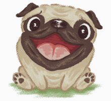 Happy Pug Kids Clothes