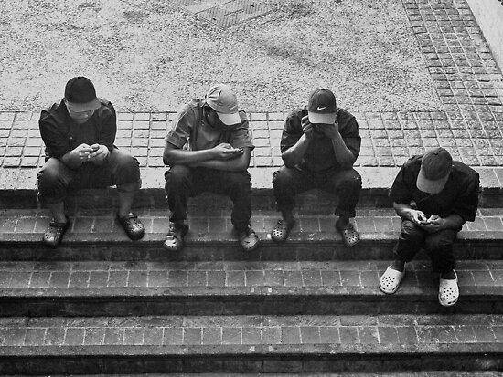 Text no evil, tweet no evil, speak no evil, and see no evil... by awefaul