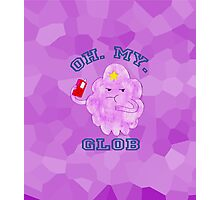 "LSP, Watercolours. ""Oh. My. Glob."" Photographic Print"
