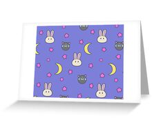 Sailor Moon R inspired Chibusa Luna-P Bedspread Blanket Print SuperS Version Greeting Card