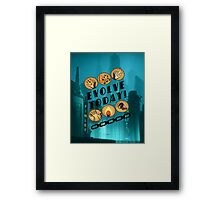 Evolve Today! Framed Print