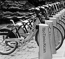 Bixi bikes by Manon Boily