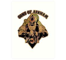 Son of Arkham - Wrestler Art Print
