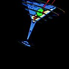 Vintage Neon Martini by Bobby Deal