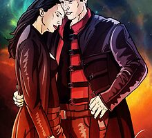 Aeryn Sun and John Crichton by tomimt