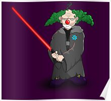 darth clown Poster