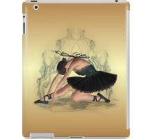 Ballerina Dressed in Black iPad Case/Skin