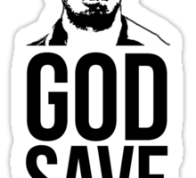 Luis Suarez - God Save The King Sticker