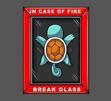Break Glass - Squirtle by Georg Bertram
