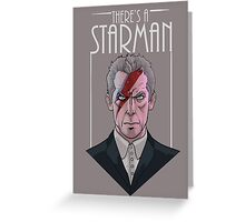 Doctor Who- Starman Greeting Card