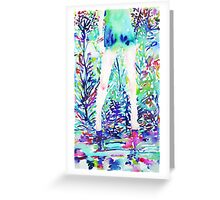 YET FOR JOY AND NOT FOR SORROW EARTH WAS MADE Greeting Card