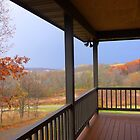 Autumn View from my Porch by Mary Kaderabek-Aleckson