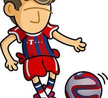 Thomas Mueller [Bayern Munich 2014] by lil-Birdbrain