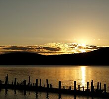Sunset on the Hudson (10)  by AGODIPhoto