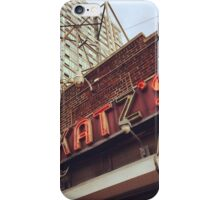 Katz's Deli, Lower East Side, NYC iPhone Case/Skin