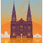 Quebec vintage poster by paulrommer