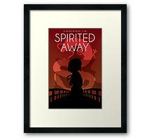 Spirited Away Movie Poster Framed Print