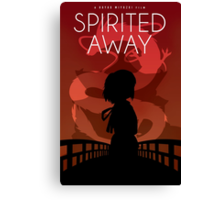 Spirited Away Movie Poster Canvas Print
