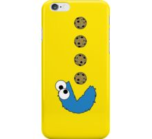 Cookie Monster Pacman iPhone Case/Skin