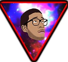 Kid Cudi Space Triangle by KingMustachio