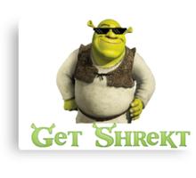 Get Shrekt m8 Canvas Print
