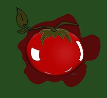 Tomato Illustrated Differently by YoPedro