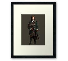 Outlander - Jamie Fraser Framed Print