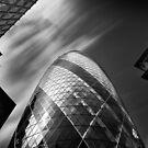 The Gherkin - London. by Ian Hufton