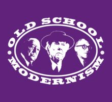 Old School Modernism Architecture T shirt by pohcsneb