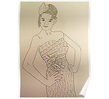 Wedding Dress No 3 Poster