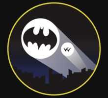 Batman signal  by -Axel-