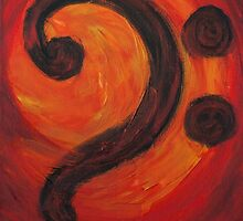 Bass Clef by BixbyPlanet