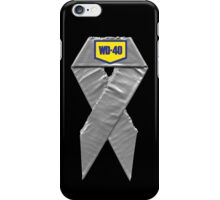 Everything can be fixed by either duct tape or WD40 iPhone Case/Skin