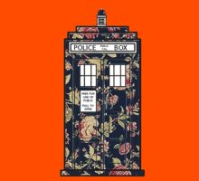 Floral TARDIS Kids Clothes