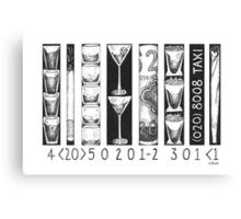 Bar Code Canvas Print