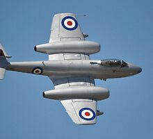 Meteor Flypast, Point Cook Airshow, Australia 2014 by muz2142